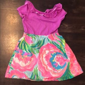 Lilly Pulitzer Dress Girls M (6-7)